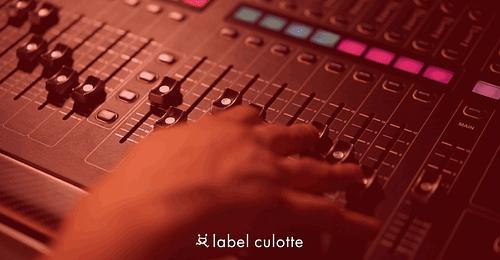 LABEL CULOTTE - PLATEFORME DE STREAMING AUDIO - Création de site internet