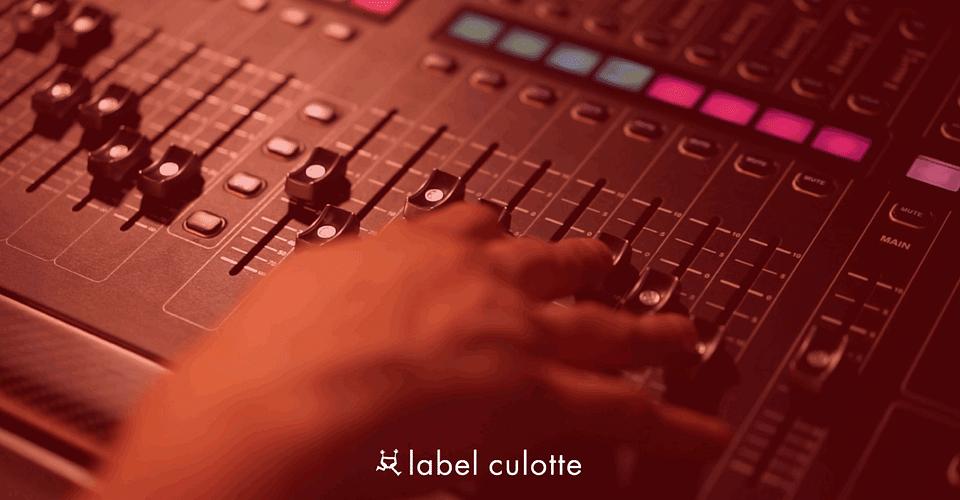 LABEL CULOTTE - PLATEFORME DE STREAMING AUDIO