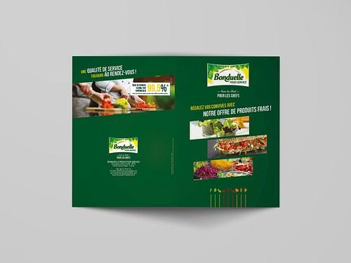 Argumentaire de vente : BONDUELLE FOOD SERVICE - Design & graphisme