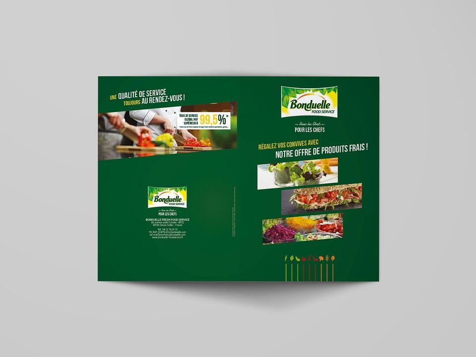 Argumentaire de vente : BONDUELLE FOOD SERVICE