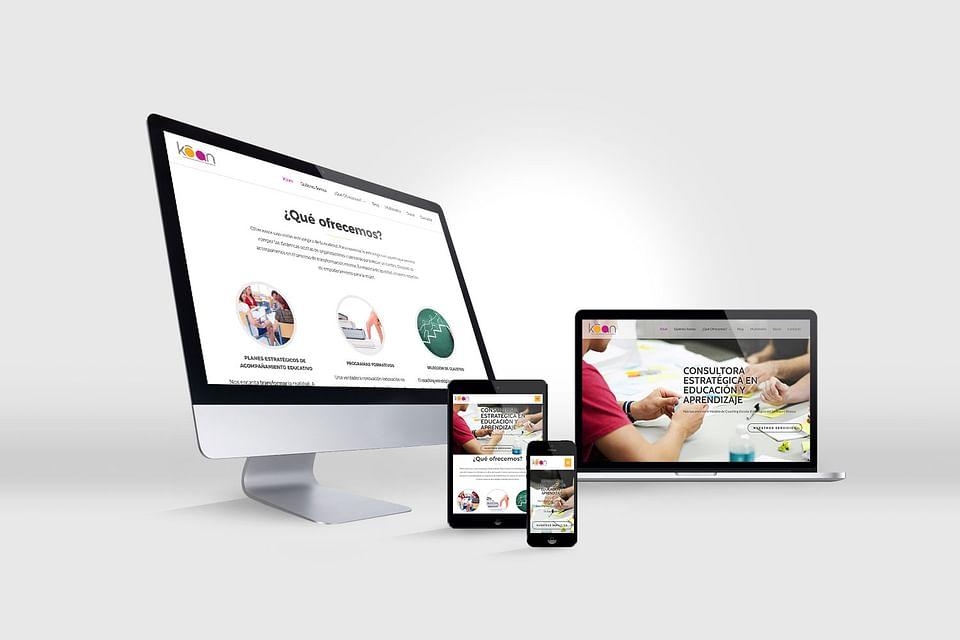 Diseño Web Proyecto Kōan