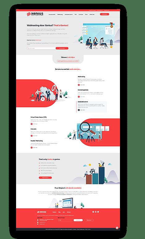 Website op maat - Website Creatie