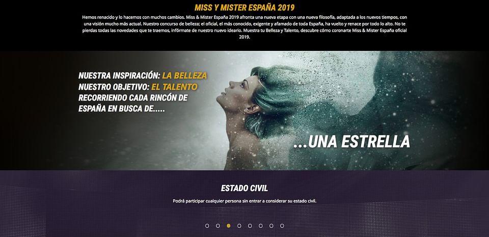 Miss y Mister España 2019