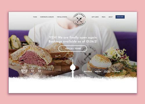 Desarrollo web /Diseño /SEO Fork and Walk - Diseño Gráfico