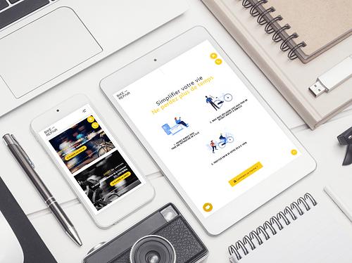 Nos réalisations avec Bike and Repair - Création de site internet