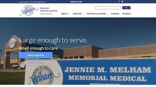 Medical Center Website - Website Creation
