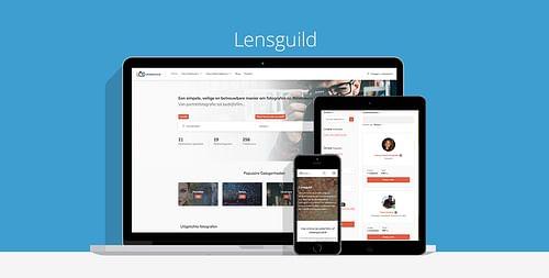 Lensguild - Website Creatie