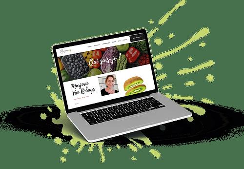 Création site vitrine nutrithérapeute - Website Creatie