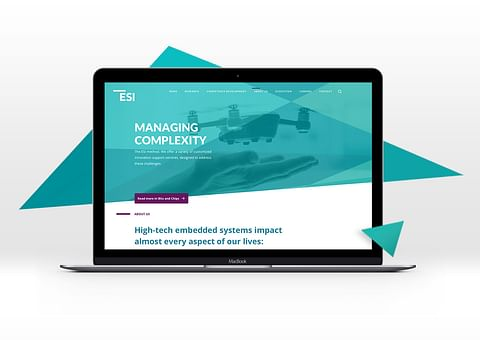 ESI TNO corporate website