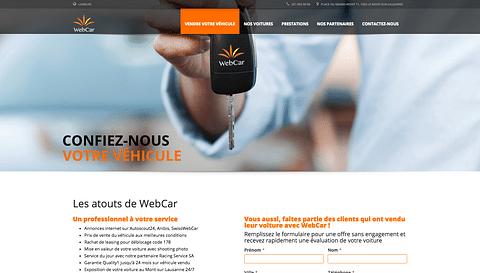 Swiss Web Car