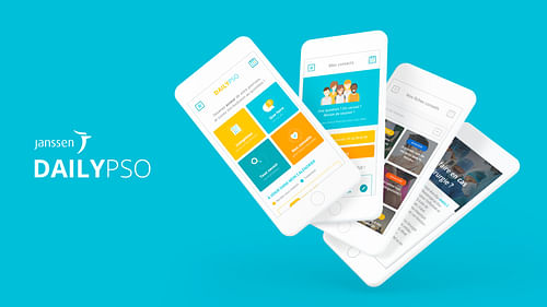 Application mobile Daily Pso - Janssen - Application mobile
