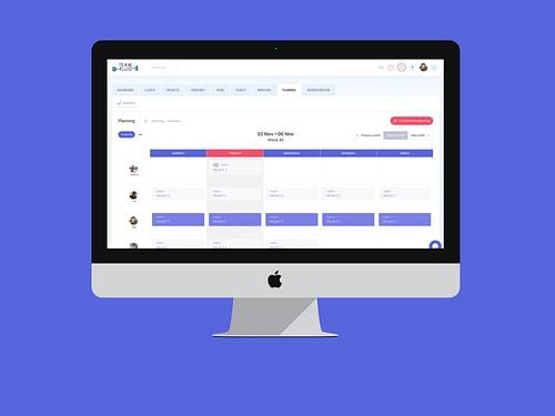 Logiciel CRM Teamplug - Application web