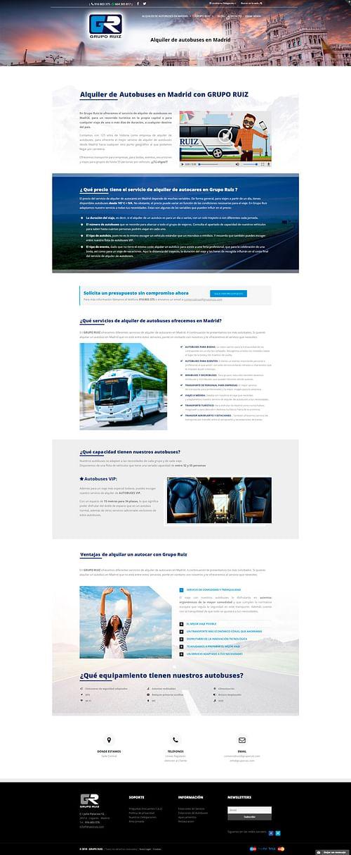 Web corporativa - Creación de Sitios Web