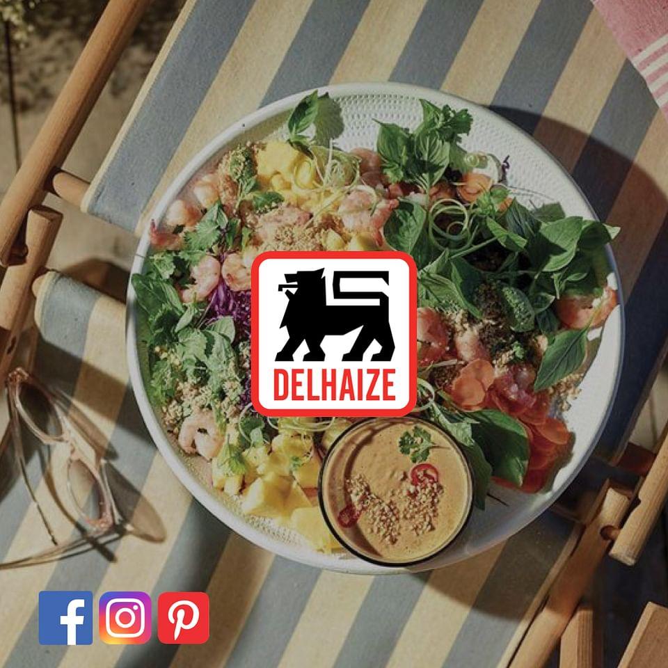 Delhaize Belgium social media reporting
