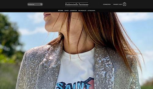 MADEMOISELLE PARISIENNE - Création de site internet