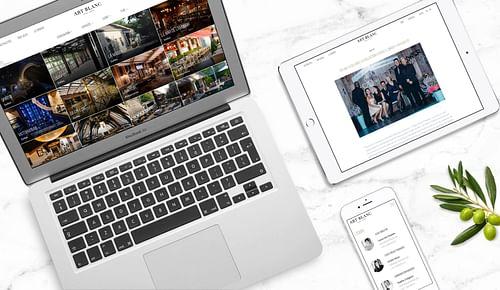 Art Blanc - Création de site internet