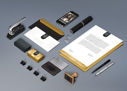 Complete Corporate ID Design for Rudab Kazmi