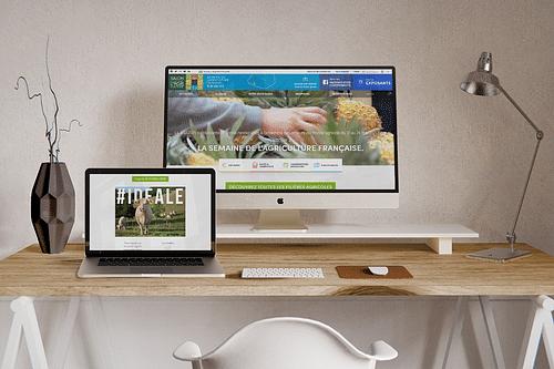 Salon International de l'Agriculture - Publicité en ligne