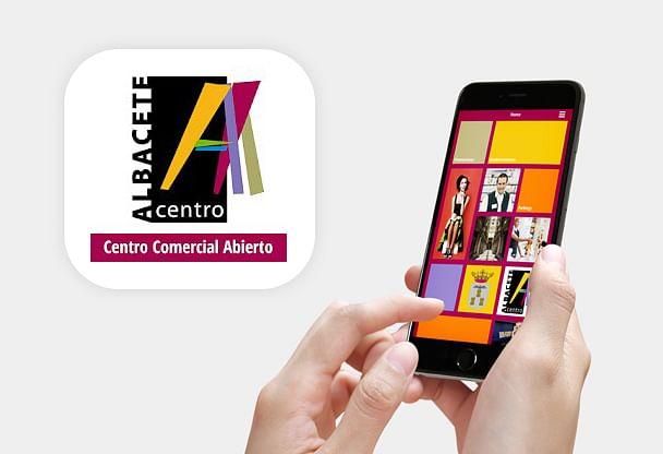 App centro comercial Albacete Centro