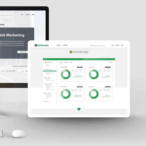 Performics // Relaunch. Webdesign. - Webseitengestaltung