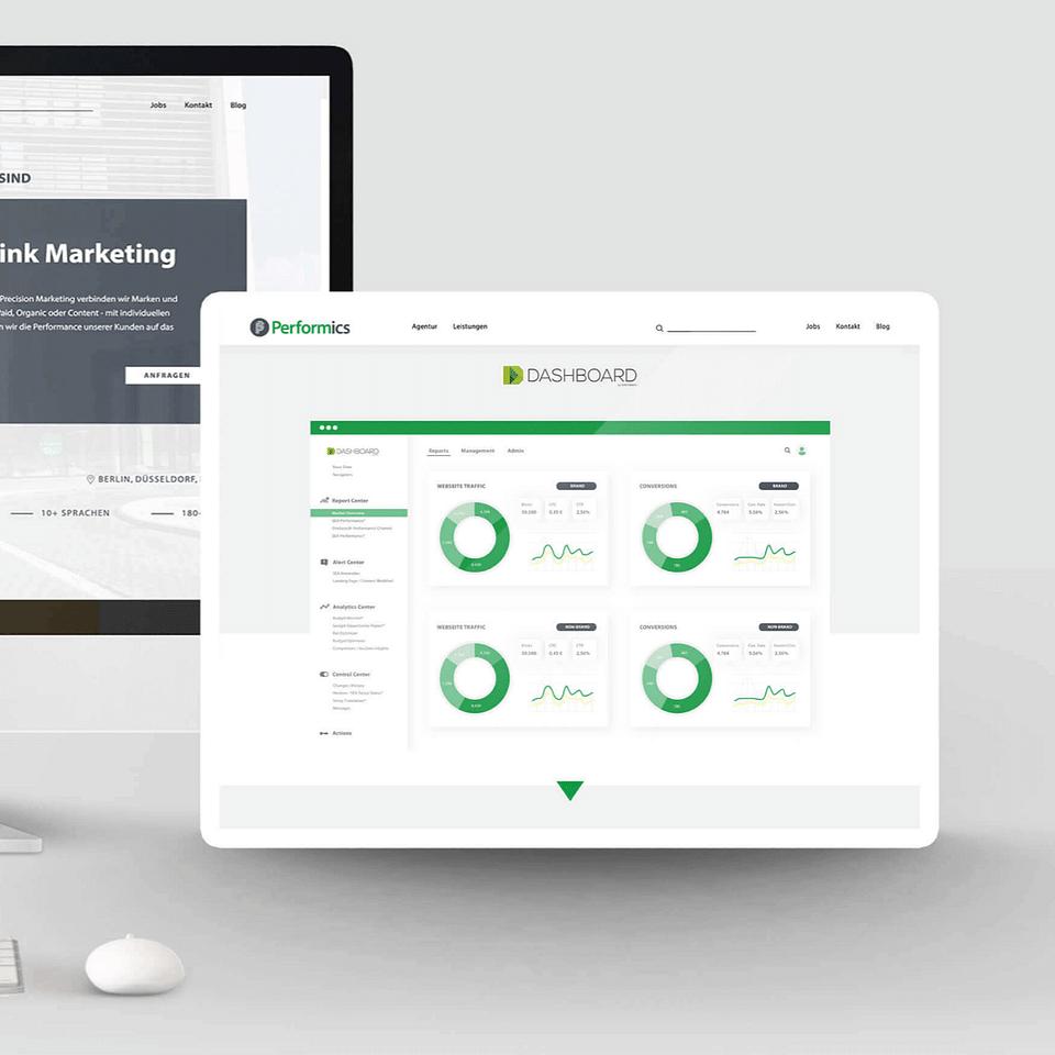 Performics // Relaunch. Webdesign.