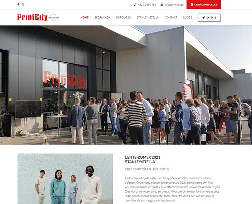 Printcity - Website Creatie