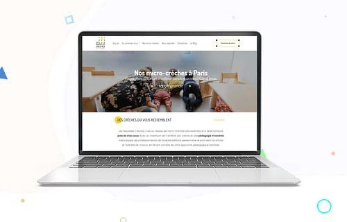 Refonte de site - Les Nouvelles Crèches - Création de site internet