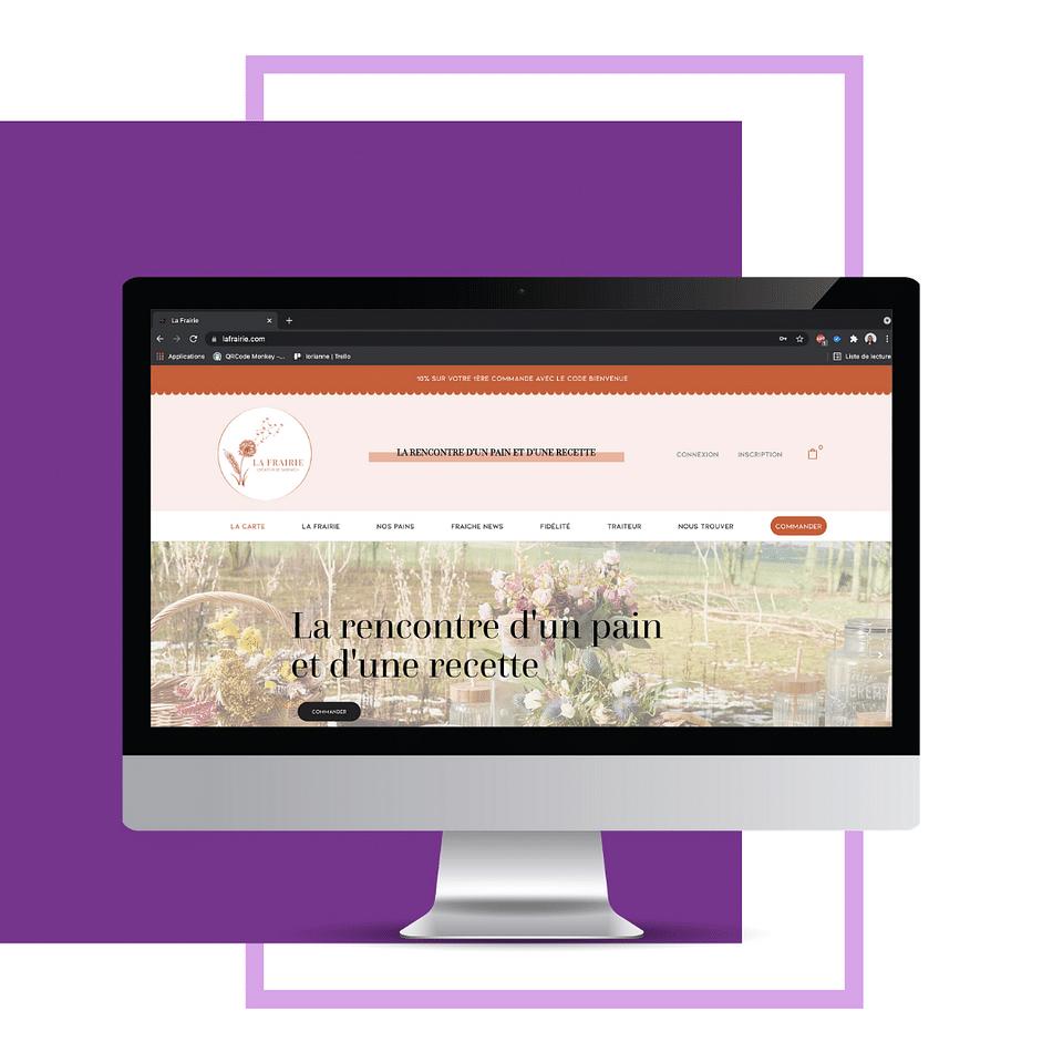 Conception et développement site web