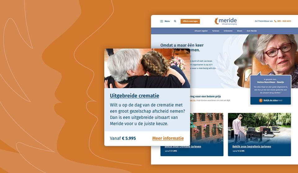 Website voor dé uitvaartverzorger van Nederland