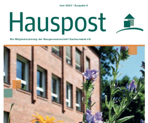 Baugenossenschaft Sachsenwald: Mietermagazin - Textgestaltung