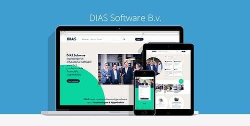 DIAS Software B.v. - Website Creatie