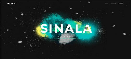 Página web SINALA - Creación de Sitios Web