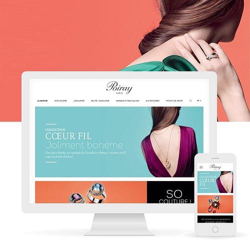 Site internet - Poiray - Stratégie digitale