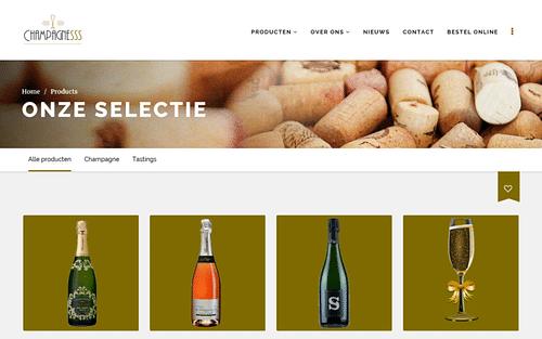 Champagnesss - E-commerce