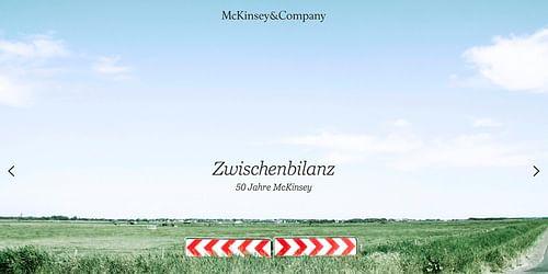 McKinsey 50 years - Onlinewerbung
