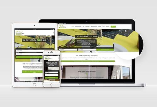 Website B&B Het Rustige Heuveltje - Website Creatie