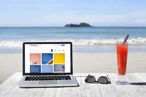 Crédit Mutuel Nord Europe : Refonte du site web - Image de marque & branding