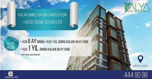 Ekşioğlu - Alya Life Residence - Social Media