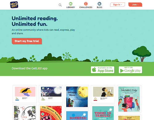 Kid's App with Gamification-EdTech - Website Creation