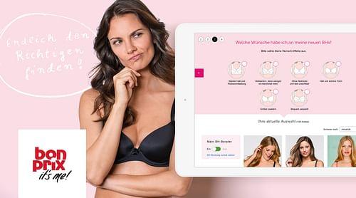 bonprix – bra fitting guide - E-Commerce