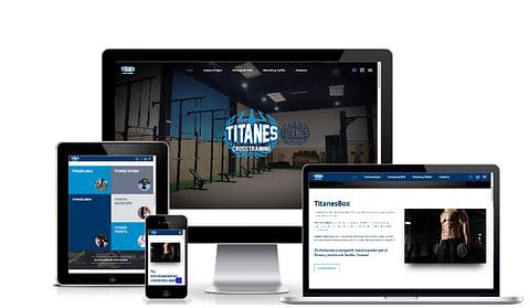 Web Gym Titanes Box