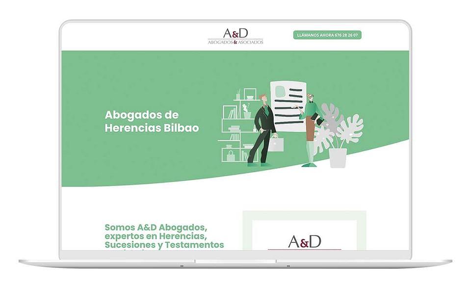 Diseño Web y Marketing Online para Abogados Bilbao