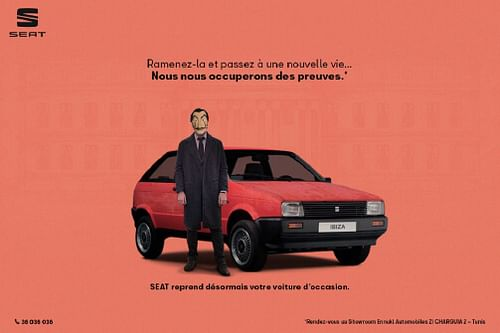 Campagne SEAT - Advertising