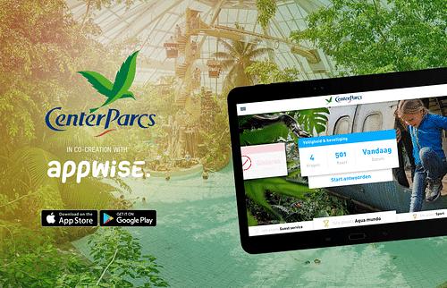 Center Parcs app - Mobile App