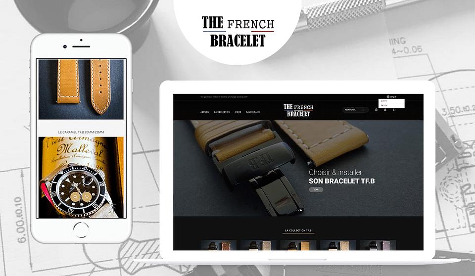 The French Bracelet - Réalisation site e-commerce