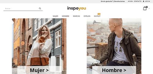 Creación ecommerce tienda online de moda Inspoyou - SEO