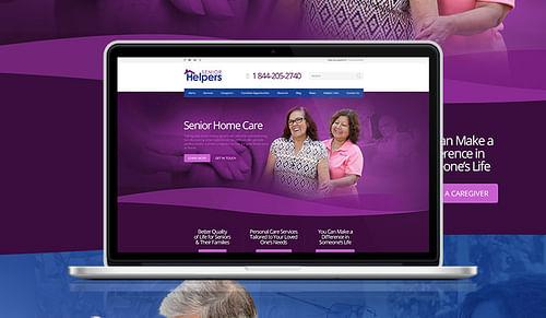 Senior Helpers - Diseño Gráfico