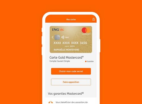 ING, l'expérience M-banking native N°1 - Application mobile