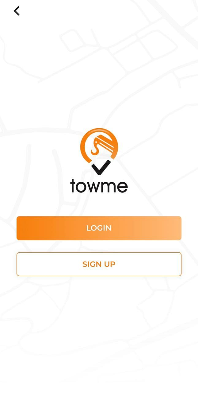 Towme Application Road Assistance services app