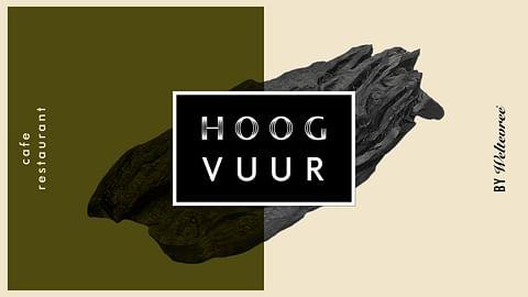 Visuele identiteit & interieur design Hoog Vuur
